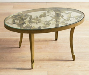 Butterfly Oval Coffee Table
