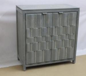 Zigzag Pattern Cabinet