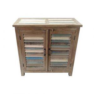2 Door Cabinet Reclaimed Wood