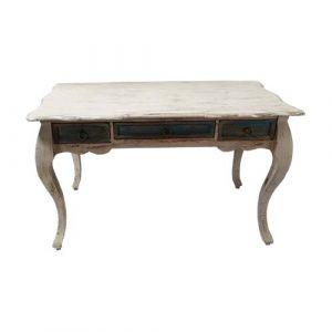 Antique White Table Distress Finish