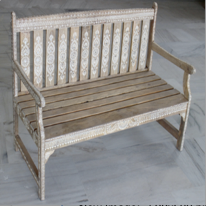 Wooden Painted Bench