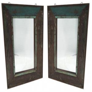 Rectangular Mirror Frame Reclaim Wood