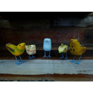 Decorative Birds (Set of 5)