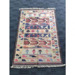 Handmade Cotton Durrie (183cm x 123cm)