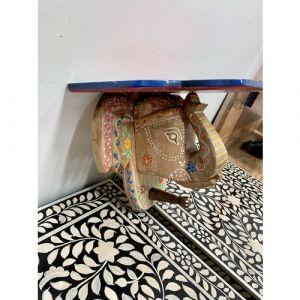 Elephant Head Shelf (Light Brown)