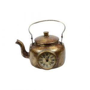 Brass Tea Kettle Clock