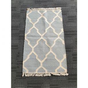Handmade Wool Durrie (97cm x 59.5cm)