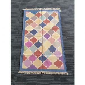 Handmade Cotton Durrie (150cm x 95cm)