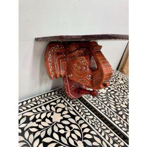 Elephant Head Shelf (Orange)