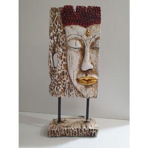 Fibre Buddha Face
