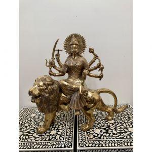Brass Durga Maa