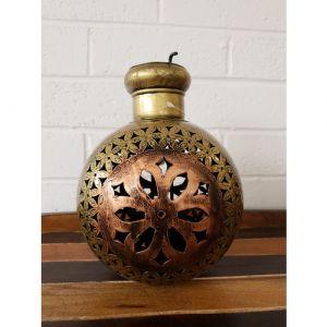 Painted Pot Lantern (Small)