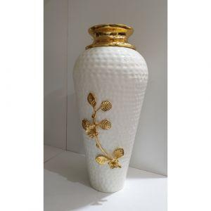 Long White Flower Pot (Small)
