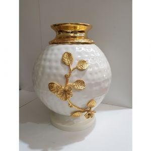 Circular White Vase (Big)