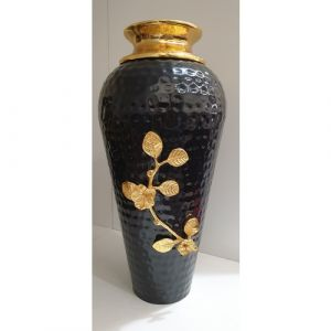 Long Black Flower Pot (Small)