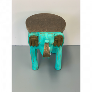Green Elephant Stool