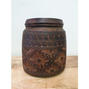 Wooden Pot (Small)