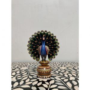 Wooden Peacock (Medium)