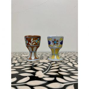 Traditional Ceramic Candle Holder (Set of 2)