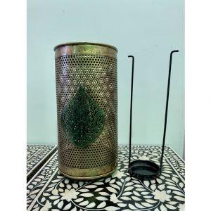 Lantern with Leaf (Large)