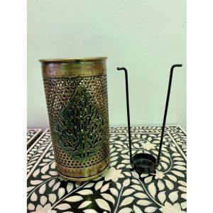 Lantern with Leaf (Small)