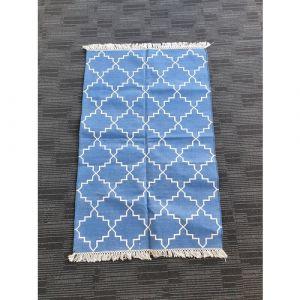 Handmade Cotton Durrie (153.5cm x 97.5cm)