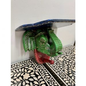 Elephant Head Shelf (Green)