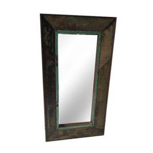 Vertical Mirror Frame Reclaim Wood