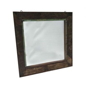 Rectangular Mirror Frame Reclaim Wood