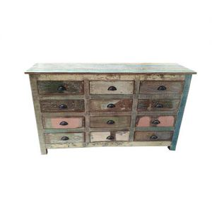 Chest Of 12 Drawers Reclaim Wood