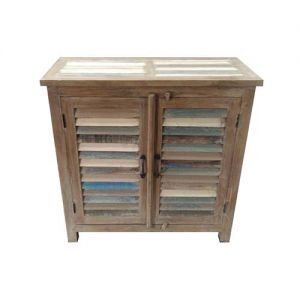 2 Door Cabinet Reclaimed Wood