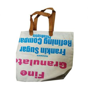 Handmade Canvas Bag Reverse Media