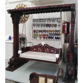 Wooden Handcarved Jhoola/ Swing